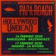 La banda californiana,Papa Roach, anuncia nueva giracon dos conciertos:Barcelona en la sala Razzmatazz el 16 de febrero y en Madrid en la sala La Riviera el 17 de febrero. Además, […]