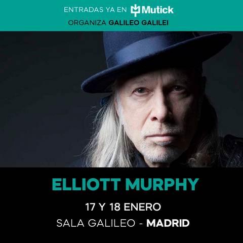 """ELLIOT MURPHY Madrid Sala Galileo Galilei 17/01/2020 Tras casi un mes en """"barbecho conciertil"""" con motivo de las navidades arrancaba para mí un nuevo año, en lo que a música […]"""