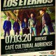 LOS ETERNOS traen a Ourense aires country, americana y rock presentando su último álbum «Vientos Solitarios» Los Eternos están de vuelta. La banda de Cedeira, que fusionan la música country/americana […]